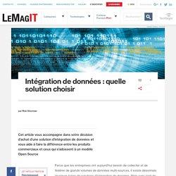 Intégration de données : quelle solution choisir