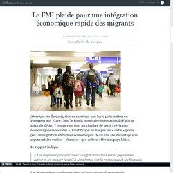 Le FMI plaide pour une intégration économique rapide des migrants