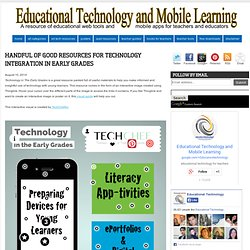 Handful of Good Resources for Technology Integration in Early Grades