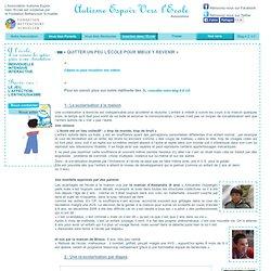 Intégration à l'école des enfants autistes