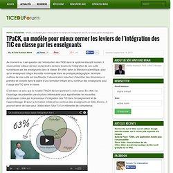 TPaCK, un modèle pour mieux cerner les leviers de l'intégration des TIC en classe par les enseignants