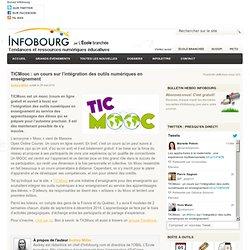 TICMooc : un cours sur l'intégration des outils numériques en enseignement