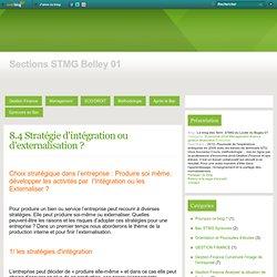 8.4 Stratégie d'intégration ou d'externalisation ? - Le blog des Term. STMG du Lycée du Bugey 01