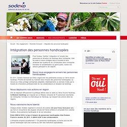 Intégration des personnes handicapées - Diversité et Inclusion - Sodexo.fr