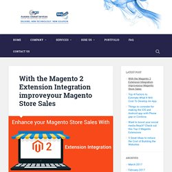 With the Magento 2 Extension Integration improveyour Magento Store Sales