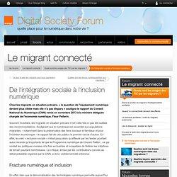De l'intégration sociale à l'inclusion numérique
