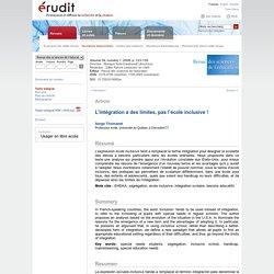 Revue des sciences de l'éducation v34 n1 2008, p.123-139