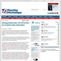 Intégration des TI à l'école : la croisée des chemins - Page 1