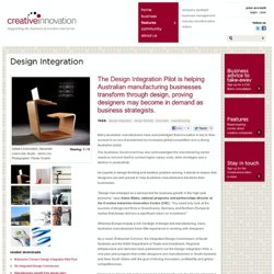 Design Integration - Creative Innovation