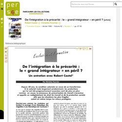 De l'intégration à la précarité : le « grand intégrateur » en péril ?