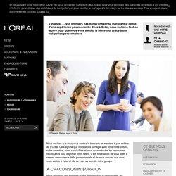 Intégration-L'Oréal Groupe