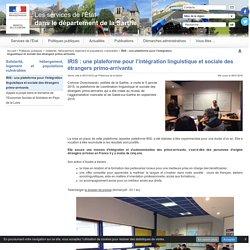 IRIS: une plateforme pour l'intégration linguistique et sociale des étrangers primo-arrivants