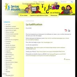 Intégration des TIC au primaire » La ludification