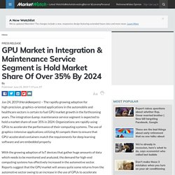GPU Market in Integration & Maintenance Service Segment is Hold Market Share Of Over 35% By 2024