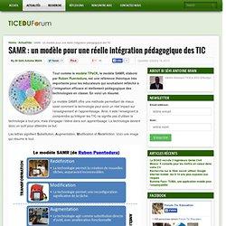 SAMR : un modèle pour une réelle intégration pédagogique des TIC