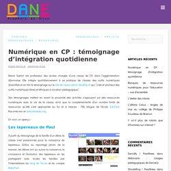 Numérique en CP : témoignage d'intégration quotidienne