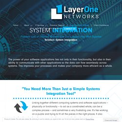 IT System Integration Services (SIS) in Corpus Christi, TX