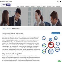 Tally 9 Integration with Third Party Software