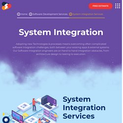 Top-notch System Integration Services At Shiv Technolabs
