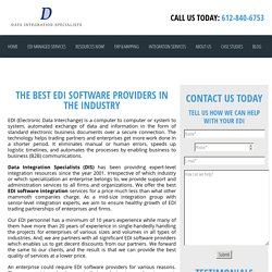 The Best EDI Software Providers in the Industry - Data Integration Specialists