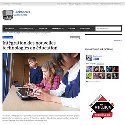 Intégration des nouvelles technologies en éducation- Geekbecois