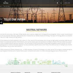 High Speed Broadband Network Integration, Telecom Services - Sterlite Technologies