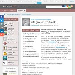 Intégration verticale, stratégie et filière
