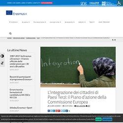 L'integrazione dei cittadini di Paesi Terzi: il Piano d'azione della Commissione Europea
