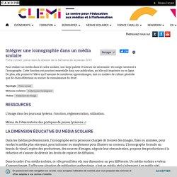 Intégrer une iconographie dans un média scolaire- CLEMI