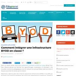 Comment intégrer une infrastructure BYOD en classe ?