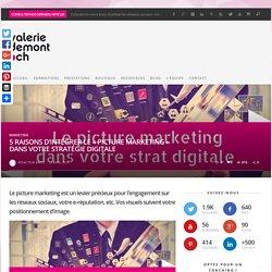 """5 raisons d'intégrer le """"picture marketing"""" dans votre stratégie digitale - valeriedemont.ch"""