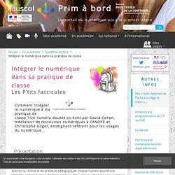 Intégrer le numérique dans sa pratique de classe