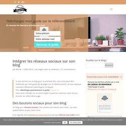 Intégrer les réseaux sociaux sur son blog