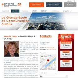 Intégrez la grande école de communication à Paris - Sup de Pub