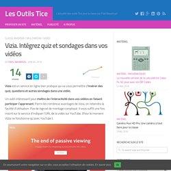 Vizia. Intégrez quiz et sondages dans vos vidéos – Les Outils Tice