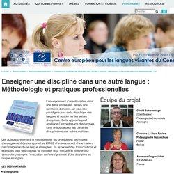 -Programme > Programme 2008-2011 > Integriertes Sprach- und Fachlernen in anderen Sprachen als Englisch - Modelle für Fortgeschrittene