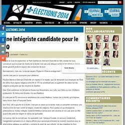 Une intégriste candidate pour le PQ