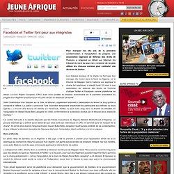 Facebook et Twitter font peur aux intégristes Nigeria, Société :