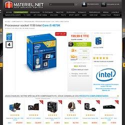Intel Core i5 4670K - Processeur socket 1150