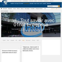 Intel : Tout savoir avec 01net Entreprise