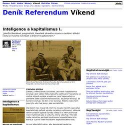 Inteligence a kapitalismus I.
