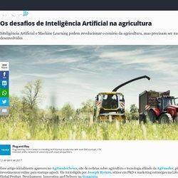Os desafios de Inteligência Artificial na agricultura