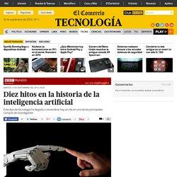 Diez hitos en la historia de la inteligencia artificial