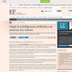 Llegó la inteligencia artificial y se acercan los robots
