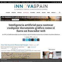 Inteligencia artificial para rastrear cualquier documento gráfico como si fuera un buscador web