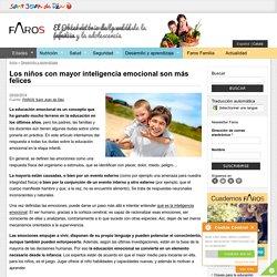 Los niños con mayor inteligencia emocional son más felices