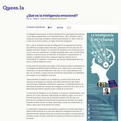 ¿Qué es la inteligencia emocional? Quees.la