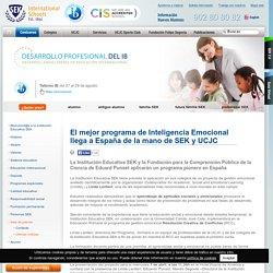 El mejor programa de Inteligencia Emocional llega a España de la mano de SEK y UCJC