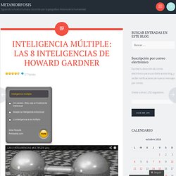 INTELIGENCIA MÚLTIPLE: LAS 8 INTELIGENCIAS DE HOWARD GARDNER