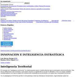 Inteligencia Territorial - Libro Gratis